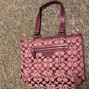 Used once coach purse